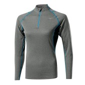 Mizuno Tee-Shirt Merino Wool 1/2 Zip Lady