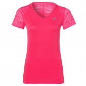 Asics Tee-shirt Fuzex V Neck SS Top
