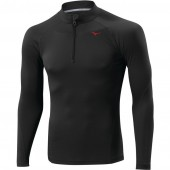 Mizuno Tee-Shirt Breath Thermo Light Weight 1/2 Zip